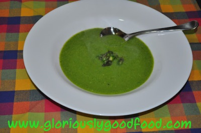 Soup Recipes | Pea and Asparagus Soup