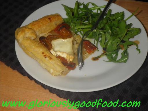 Sunblush Tomato and Goats Cheese Tart
