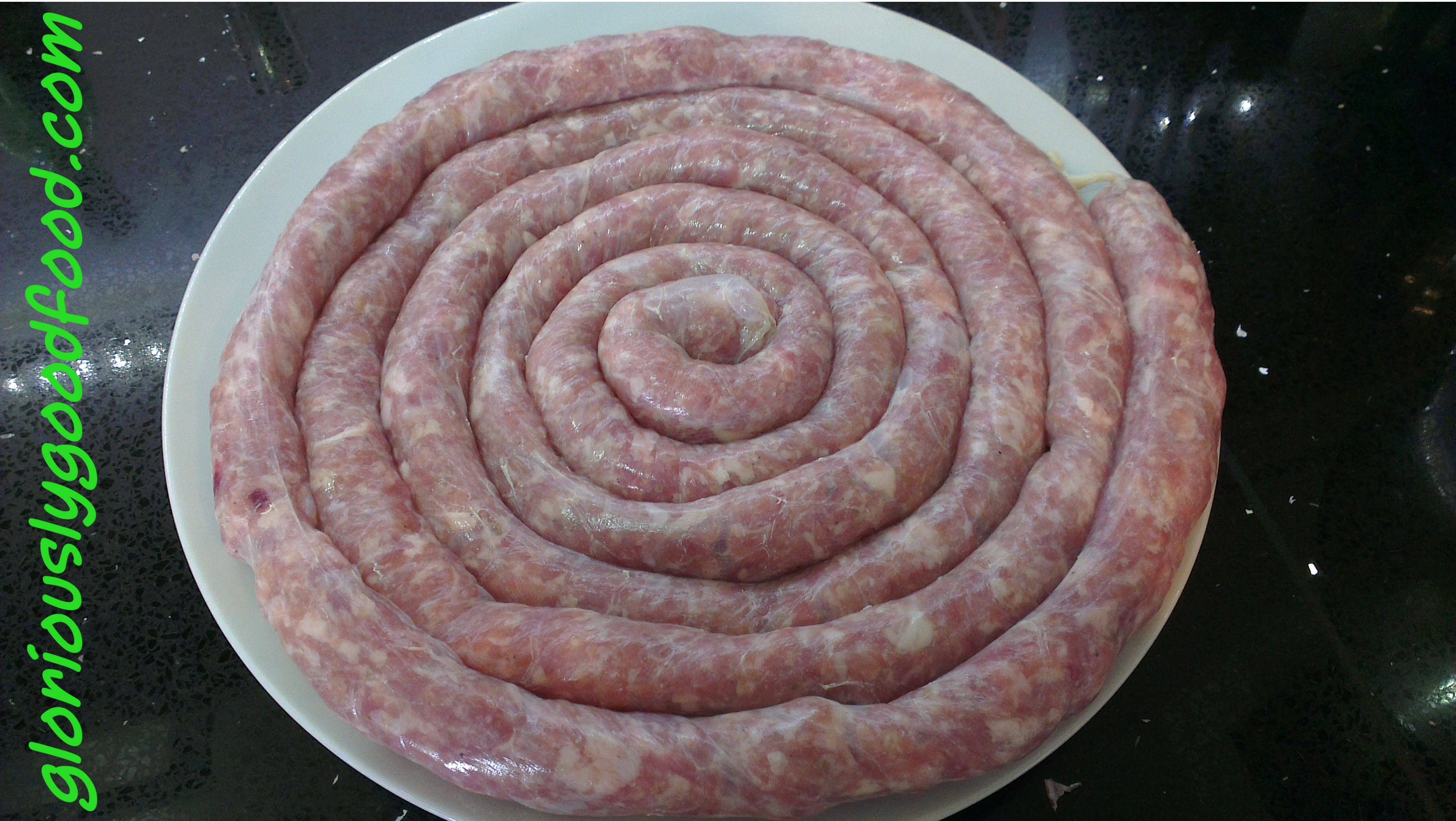 Sausage gloriously good food for How to cook cumberland sausage ring