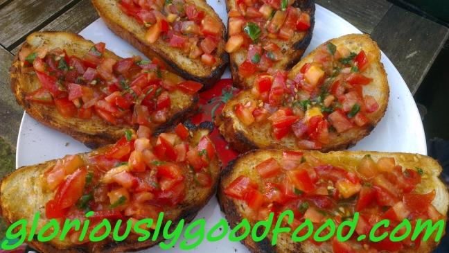 Bruschetta | Garlic Bread | Italian Garlic Bread