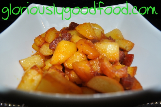Sauteed potatoes with chorizo | chorizo potatoes