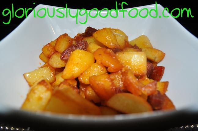 Sauteed potatoes with chorizo | chorizo potatoes