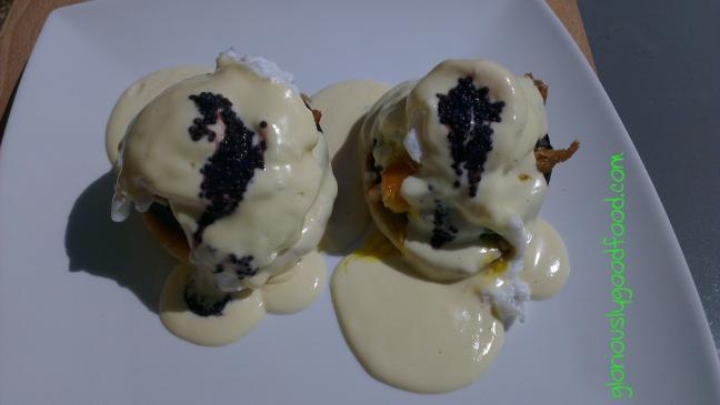 Smoked Mackerel Black Pudding Caviar Brunch