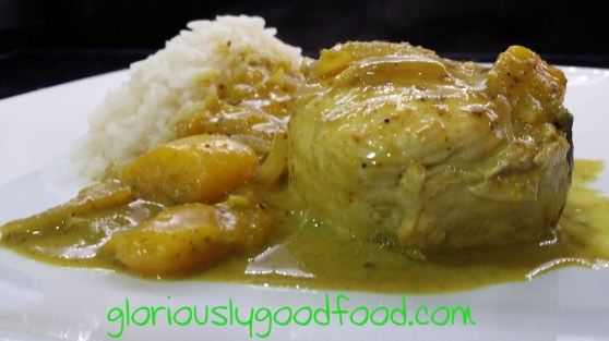 Caribbean Coconut Fish Curry