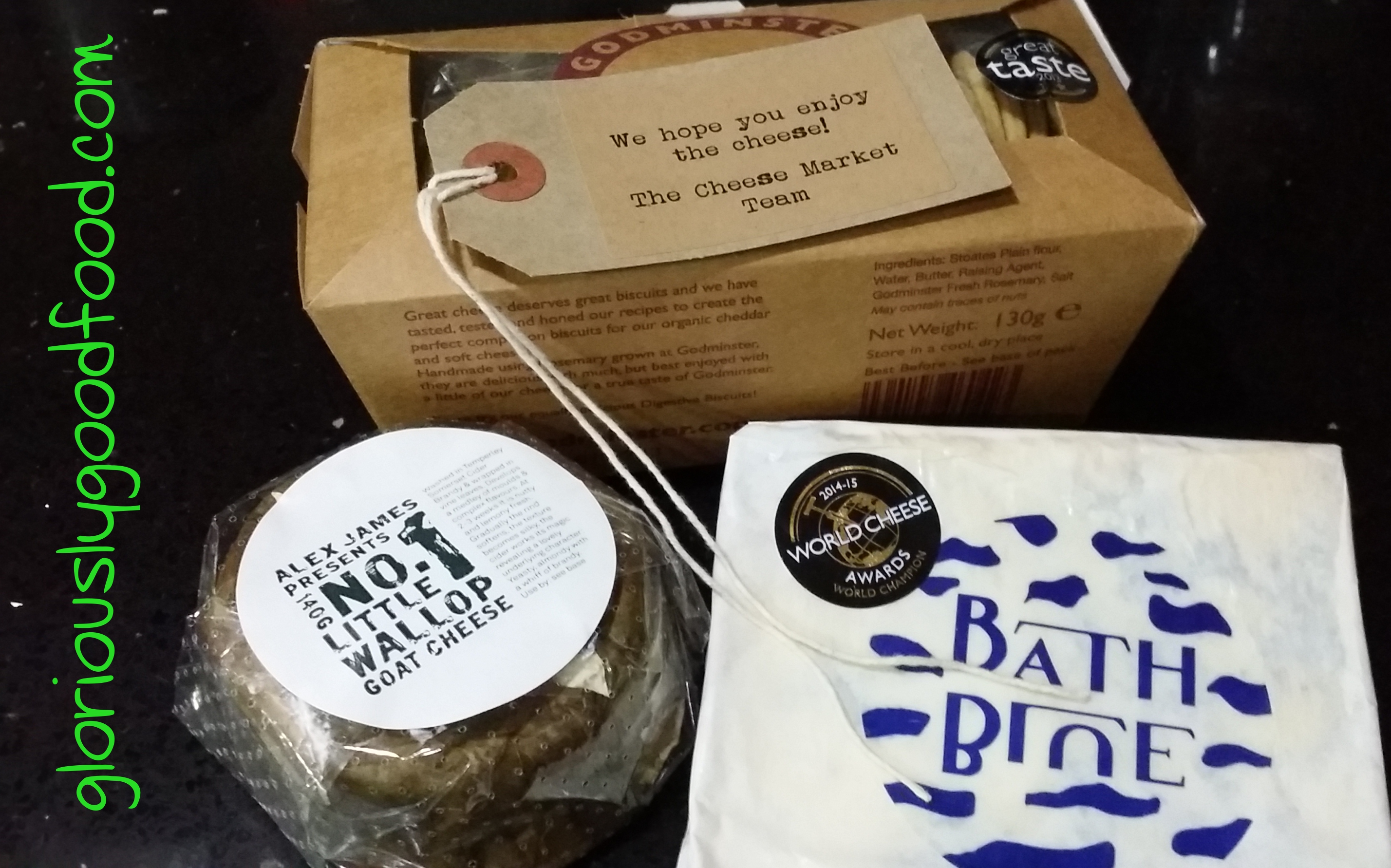 The Cheese Market | Review | Little Wallop and Organic Bath Blue