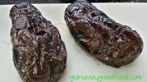 Grilled Aubergine for Baba Ganoush