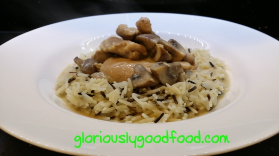 Chicken and Mushroom Casserole | Reflux Recipes | Low-Fat Chicken Casserole