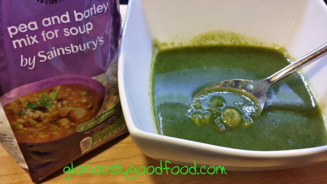 Vegetable Soup | Low-Fat Vegetable Soup | Reflux Recipe | Vegetable Soup with Peas and Barley