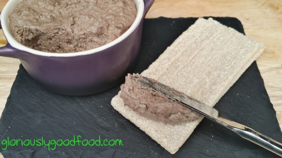 Low-fat Chicken Liver Pâté | Reflux suitable chicken liver Pâté | chicken liver Pâté