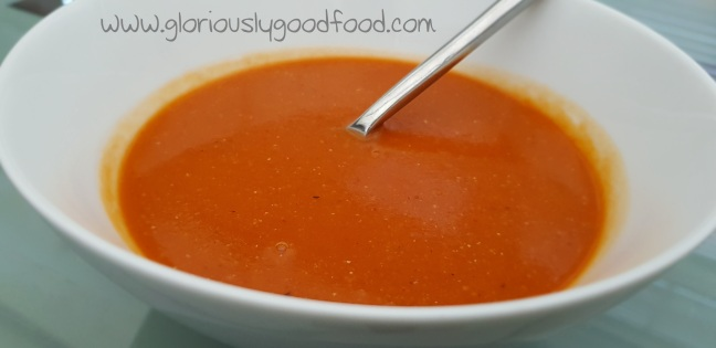spiced lentil pea bean and tomato soup