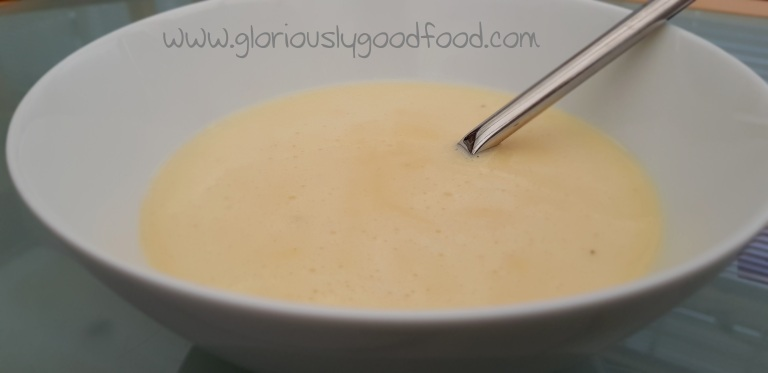 Indulgent spiced cheese soup